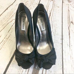 "🌺 Steve Madden Ultra High Black Heels 6"" 8.5"